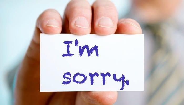 7 вещей, за которые не нужно извиняться