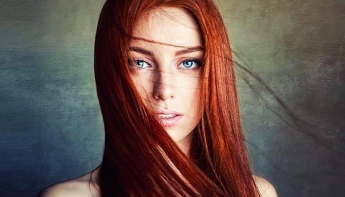Особенности девушек с рыжими волосами.