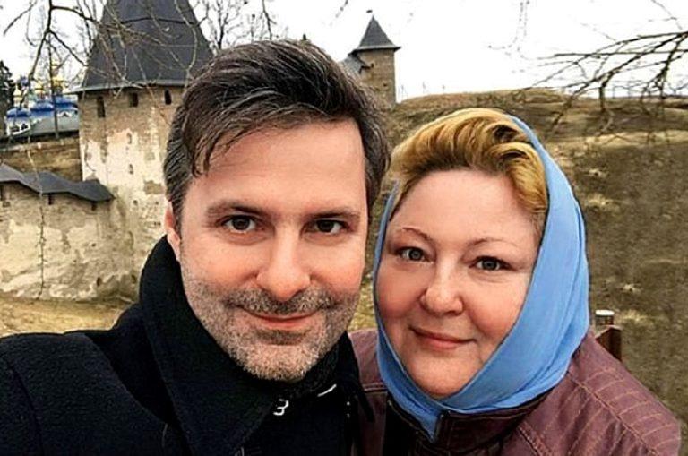 Юлия с мужем